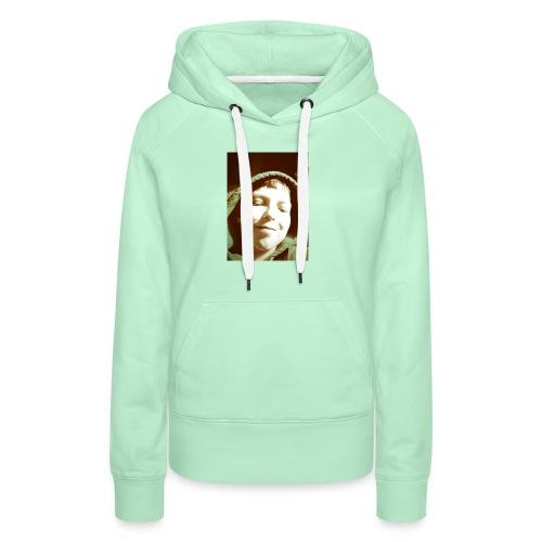 mooie cap erg in - Vrouwen Premium hoodie