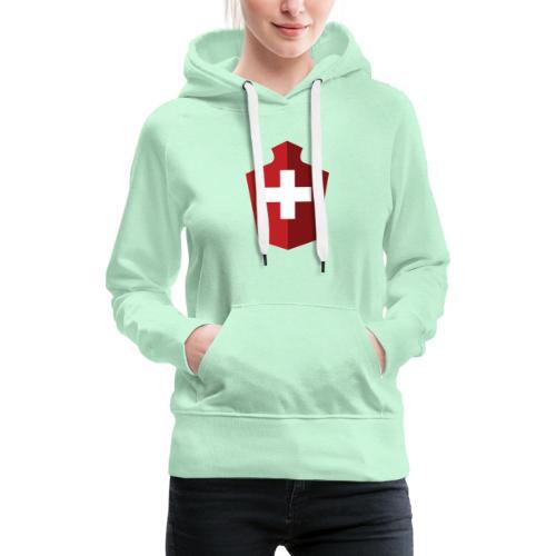 Schweizer Flagge - Schweiz - Frauen Premium Hoodie