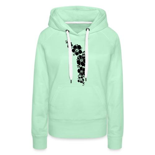 Flowers - Frauen Premium Hoodie