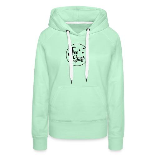 JeeShirt Logo - Sweat-shirt à capuche Premium pour femmes