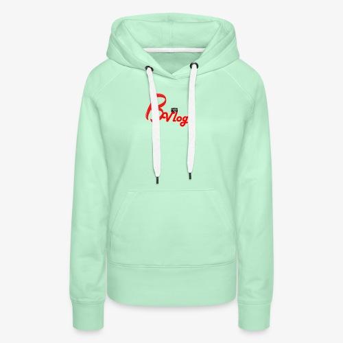 Boaz Vlogs Logo - Vrouwen Premium hoodie