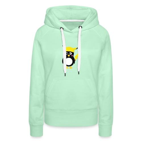 PIngouin - Sweat-shirt à capuche Premium pour femmes