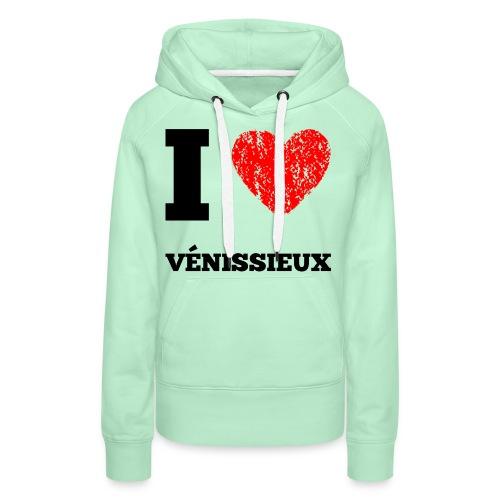 VENISSIEUX - Sweat-shirt à capuche Premium pour femmes