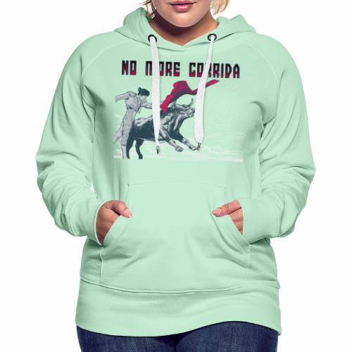 plus jamais de corrida - Sweat-shirt à capuche Premium pour femmes