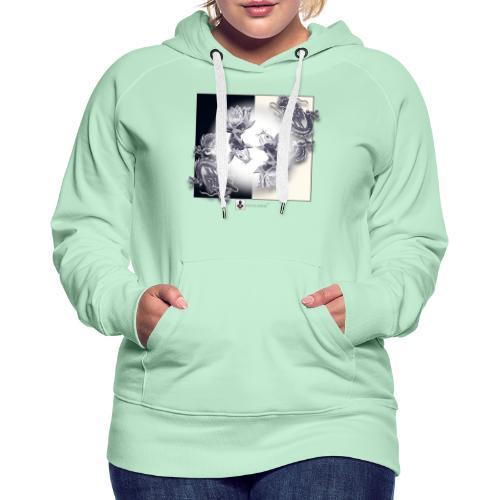 TSHIRT MUTAGENE TATOO DragKoi - Sweat-shirt à capuche Premium pour femmes