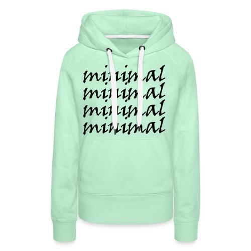 Minimal Design - Frauen Premium Hoodie