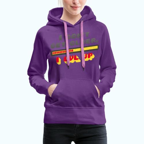 Gamer Spruch - Women's Premium Hoodie