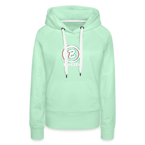 BLUEZED COLLECTIE - Sweat-shirt à capuche Premium pour femmes