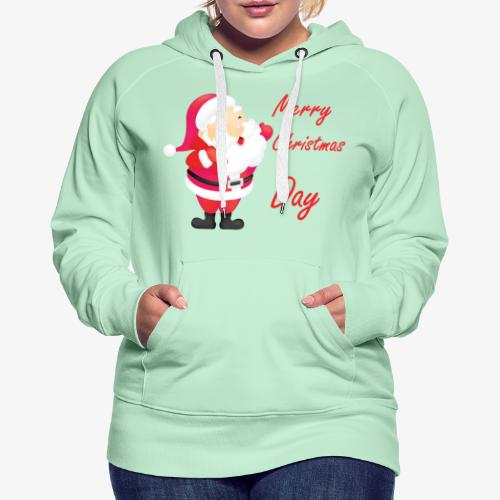 Merry Christmas Day Collections - Sweat-shirt à capuche Premium pour femmes