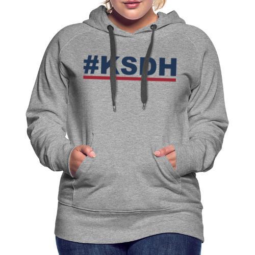KSDH - Dame Premium hættetrøje