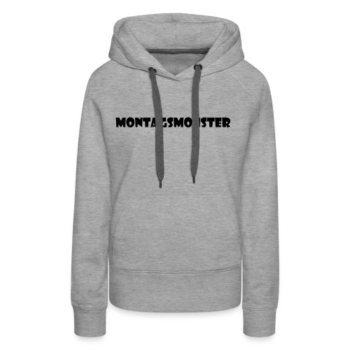 Montagsmonster - Frauen Premium Hoodie