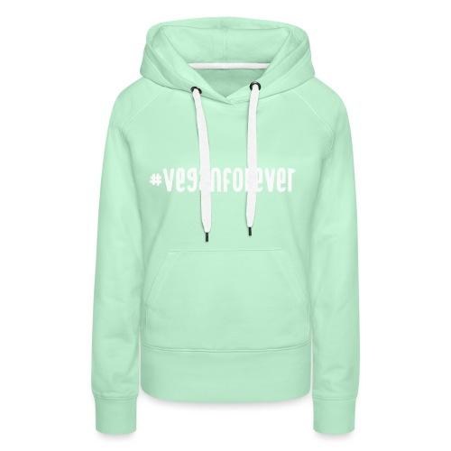 veganforever - Women's Premium Hoodie