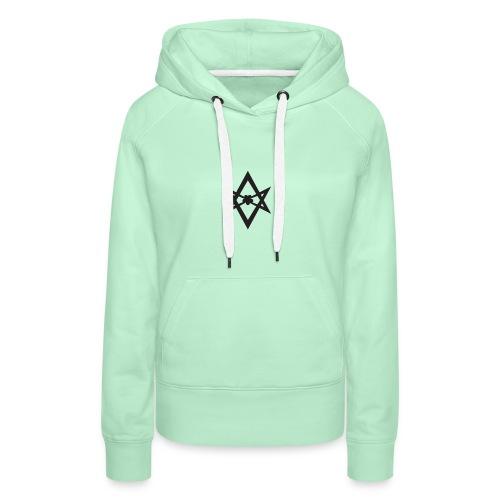 Triangle - Sudadera con capucha premium para mujer