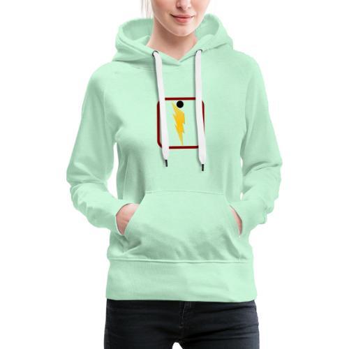 Foudre de Taranicité - Sweat-shirt à capuche Premium pour femmes