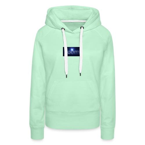 BOOOM - Bluza damska Premium z kapturem