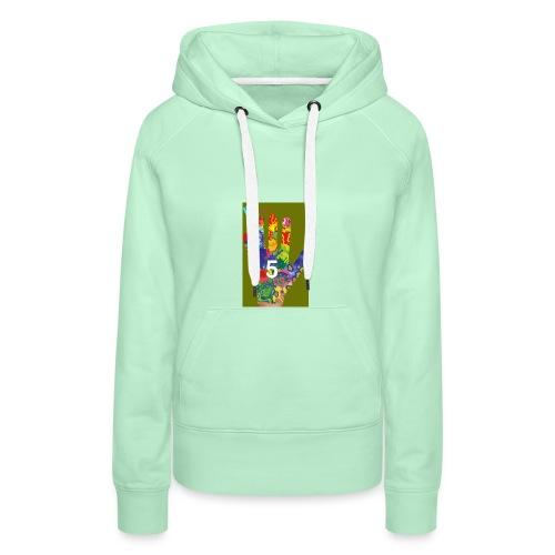 Design Get Your T Shirt 1564140754669 - Sweat-shirt à capuche Premium pour femmes