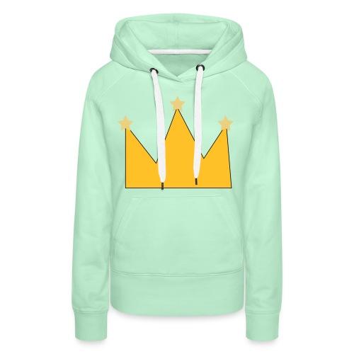 kroon - Sweat-shirt à capuche Premium pour femmes