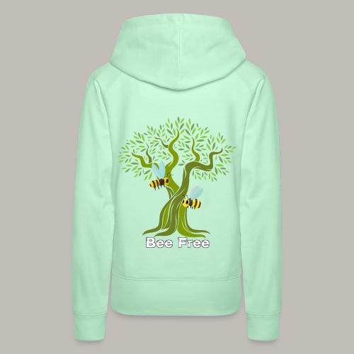 Bee Free - Sweat-shirt à capuche Premium pour femmes