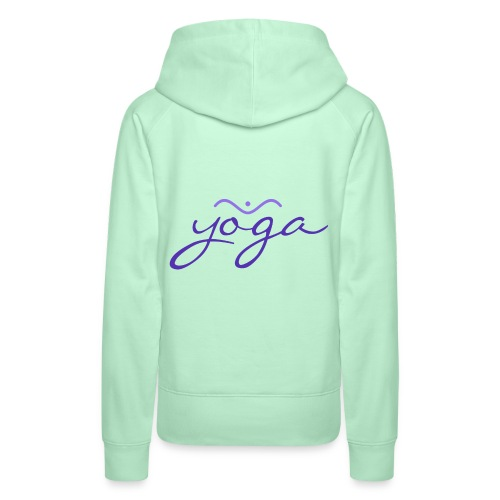 Yoga Balancing Typography And Emblem 3 - Frauen Premium Hoodie