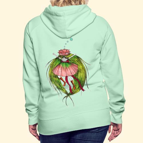 Fée des fleurs : Tiens bon ! (Pour l'écologie) - Sweat-shirt à capuche Premium pour femmes