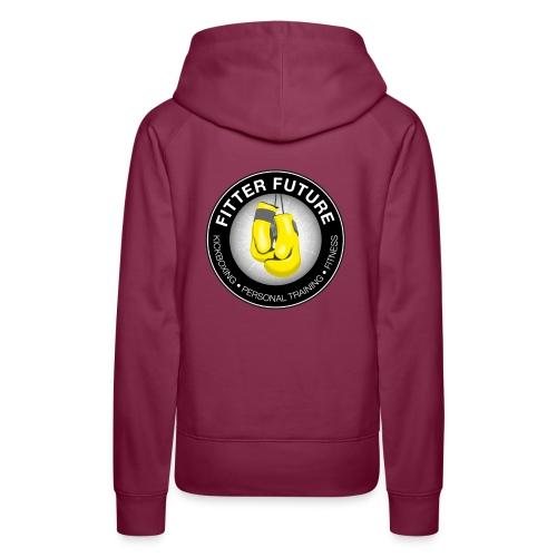 Fitter Future logo - Vrouwen Premium hoodie
