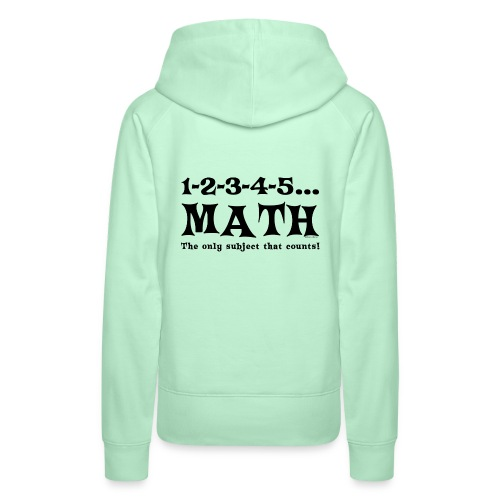 Black Math Counts - Women's Premium Hoodie