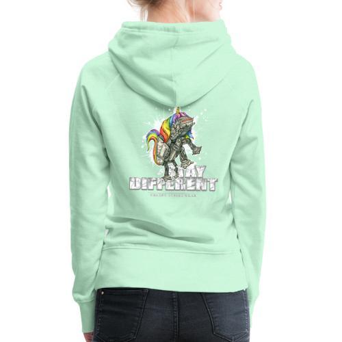 Stay Different - Imperial Unicorn - Frauen Premium Hoodie
