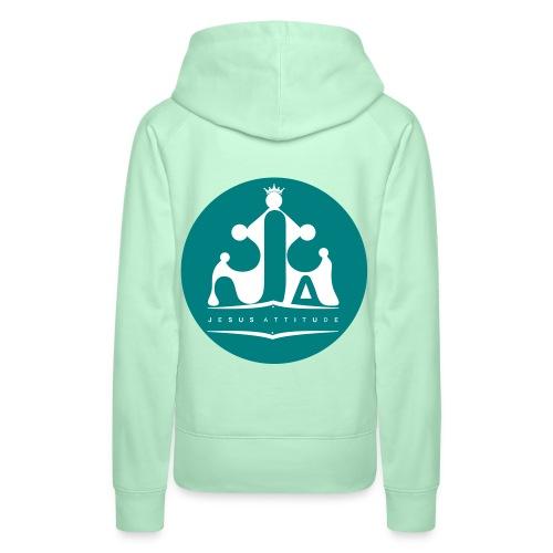 Jesus Attitude # - Sweat-shirt à capuche Premium pour femmes