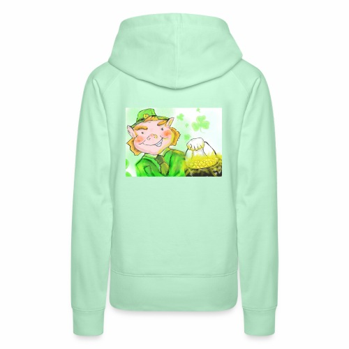 lenny the leprechaun - Women's Premium Hoodie