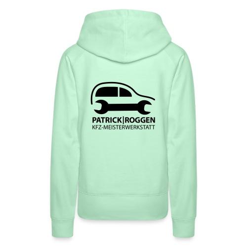 patrick logogr final schwarz kopie - Frauen Premium Hoodie