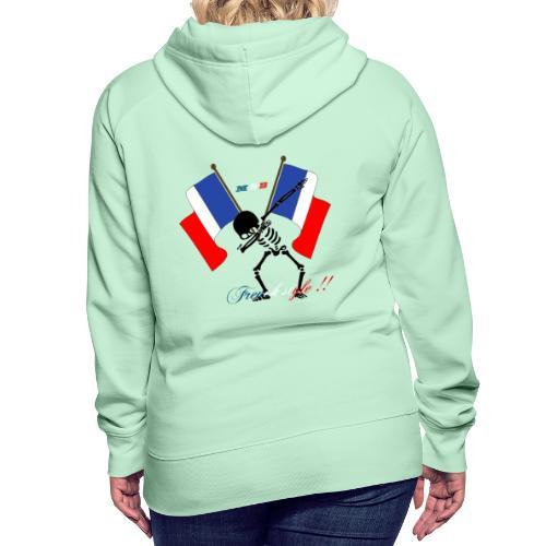 tetedemort dab - Sweat-shirt à capuche Premium pour femmes
