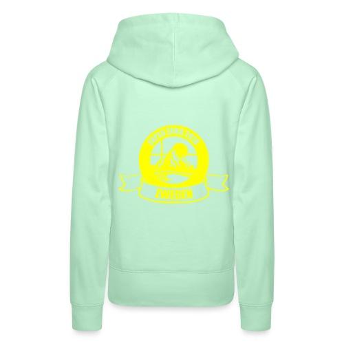 zokalogogeel 2 - Vrouwen Premium hoodie