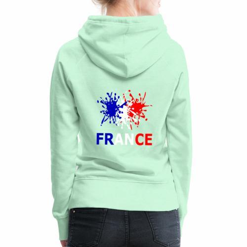 France - red white blue - Women's Premium Hoodie