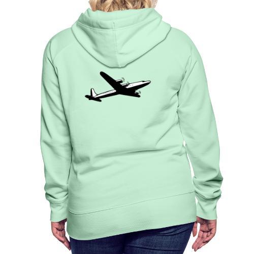 Airplane clothing for travel junkies - Vrouwen Premium hoodie