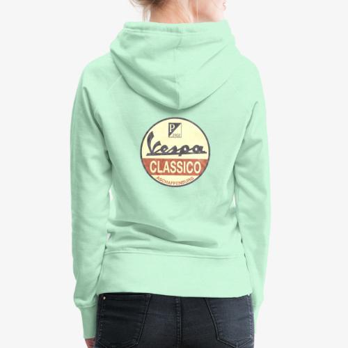 Vintage Logo - Frauen Premium Hoodie