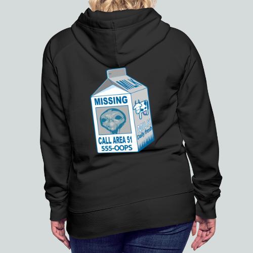 Missing: alien - Sweat-shirt à capuche Premium pour femmes