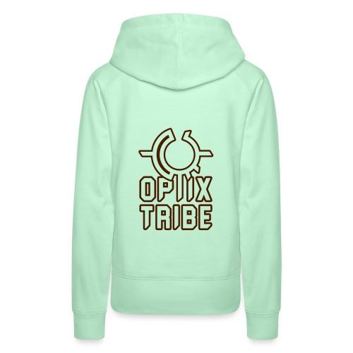 Optix Tribe mit Logo - Frauen Premium Hoodie