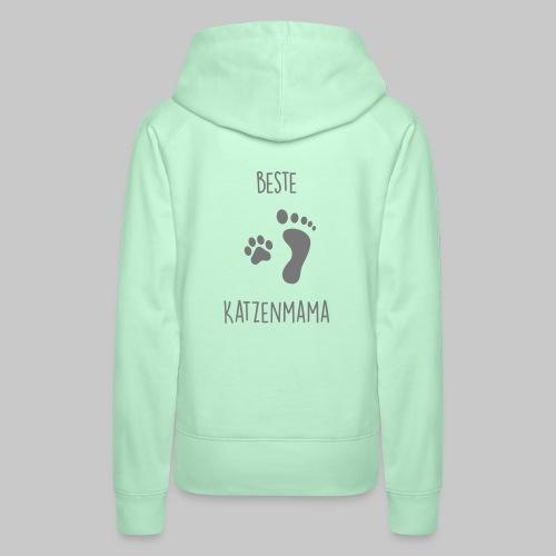 Beste Katzenmama - Frauen Premium Hoodie