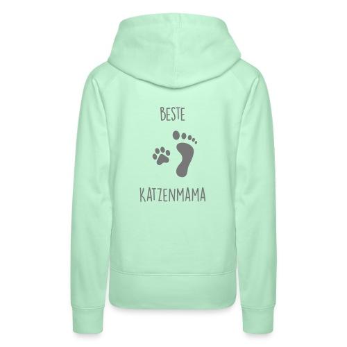 Vorschau: Beste Katzenmama - Frauen Premium Hoodie