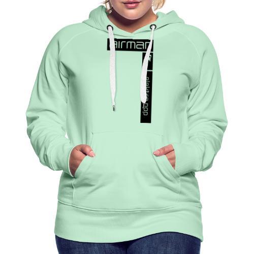 airman logo grossflaechig - Frauen Premium Hoodie
