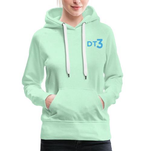 DT3 Logo - Blue - Frauen Premium Hoodie