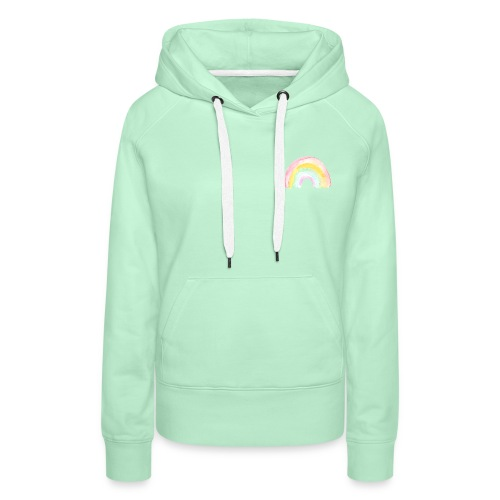 Pastell Rainbow - Frauen Premium Hoodie