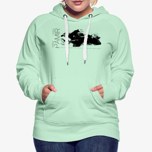 Pamir Expedition black - Women's Premium Hoodie