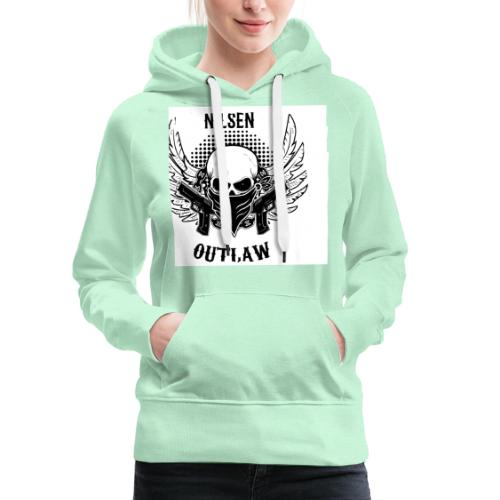 Nilsen Outlaw Head - Women's Premium Hoodie