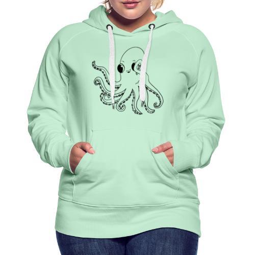 Little octopus - Women's Premium Hoodie