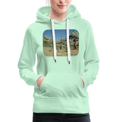 Valle della Luna - Felpa con cappuccio premium da donna