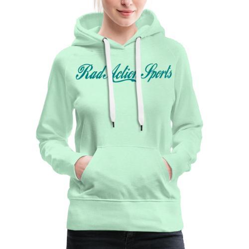 Real Rad Logo - Women's Premium Hoodie