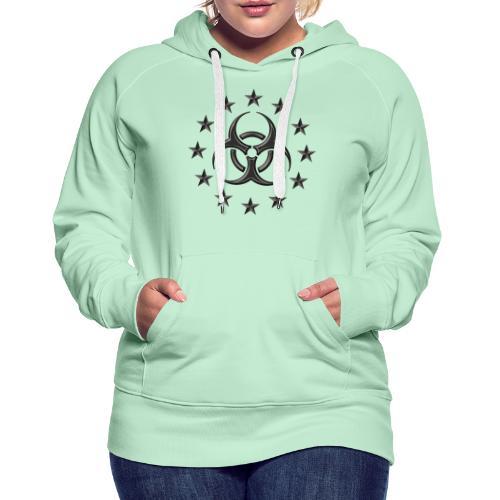 Biohazard, Pandemic. The apocalypse are now! - Women's Premium Hoodie
