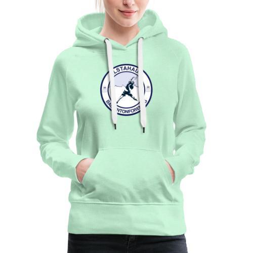 Alstahaug badminton - Premium hettegenser for kvinner