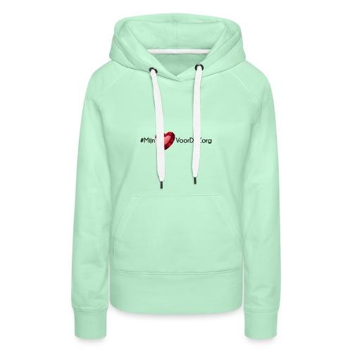 Mijn Hart Voor De Zorg - Vrouwen Premium hoodie